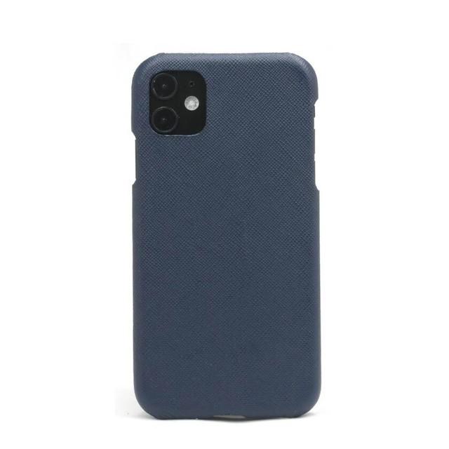 【ネイビー】シンプルケース iPhone / Galaxy / Xperia /  Googlepixel / Huawei / Oppo Reno / AQUOS