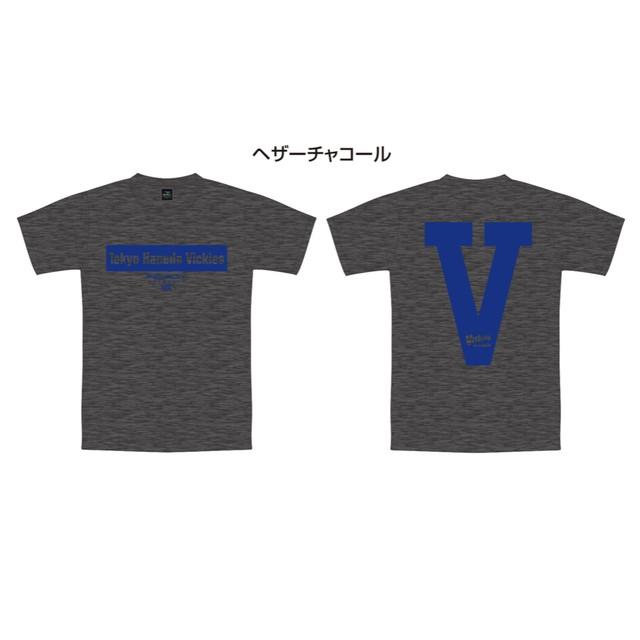 ボックスロゴTシャツ グレー