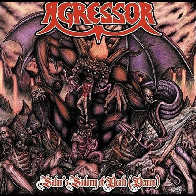 AGRESSOR『Demos~Satan's Sodomy Of Death』CD