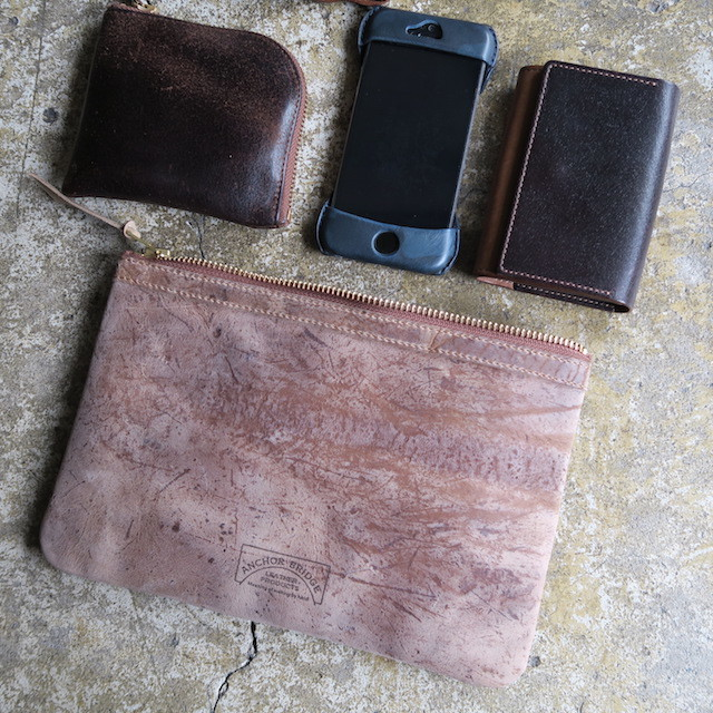 Multi Leather Pouch-Kudu