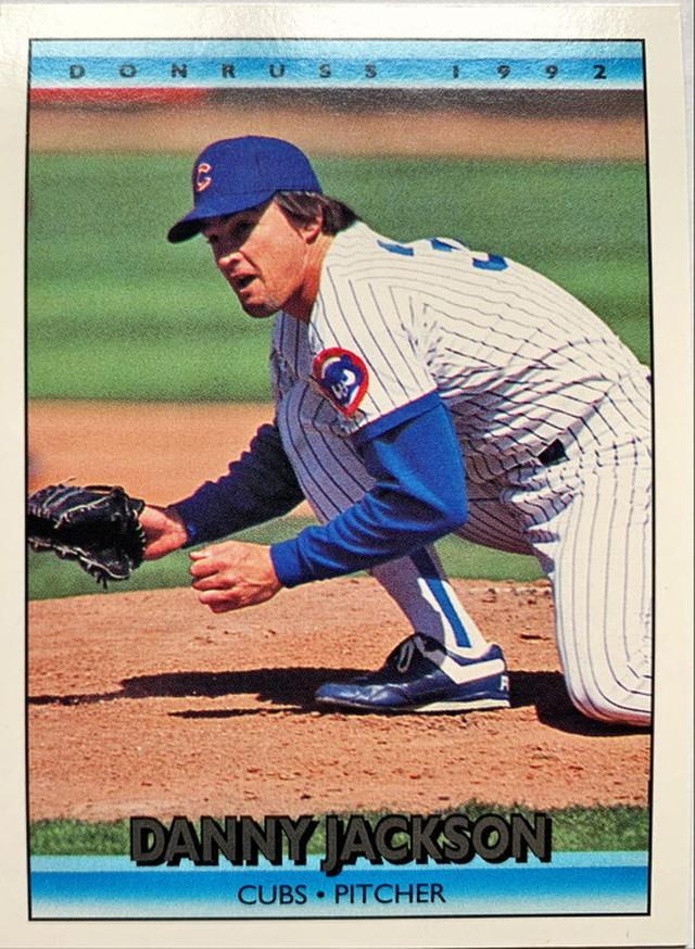 MLBカード 92DONRUSS Danny Jackson #091 CUBS