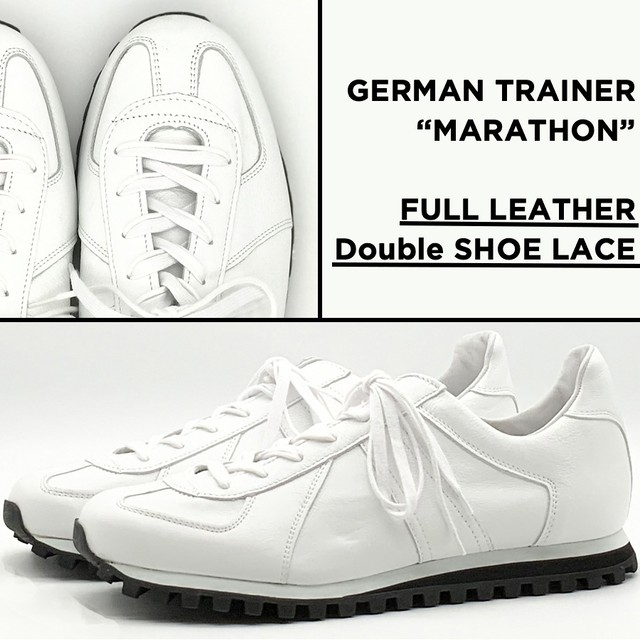 ★予約販売★ GERMAN TRAINER 3183-AL <WHITE>