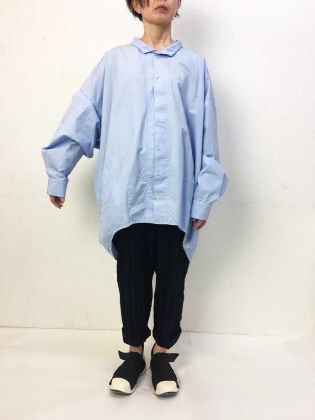2-211-807 FUSEN SHIRTS [SAXE BLUE]