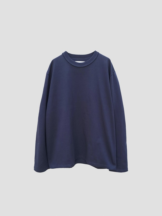 CAMIEL FORTGENS Tee long sleeve oversized Dark Navy 11.01.02
