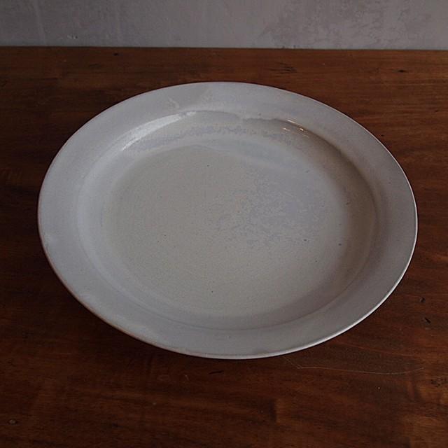松尾直樹|OP釉 8.5寸リム皿