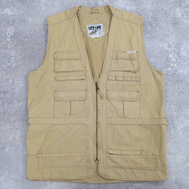 fishing gimmick long vest