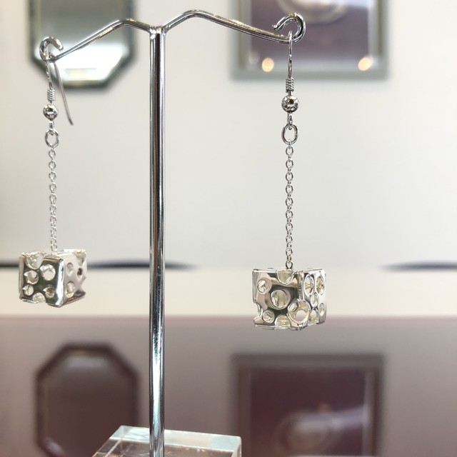 ピアス・ジュエリー / 身に纏う建築 - Earrings - JEWELRY / Wearing Architecture- Silver(SV925)
