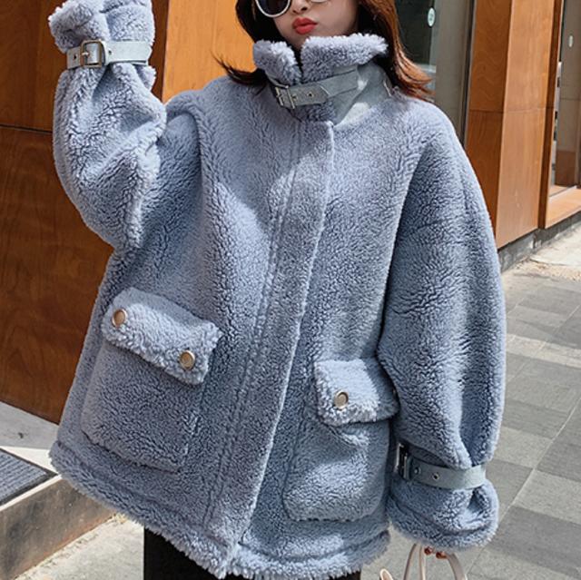 【最短2日で発送】4点限定!Piping boa coat LD0251