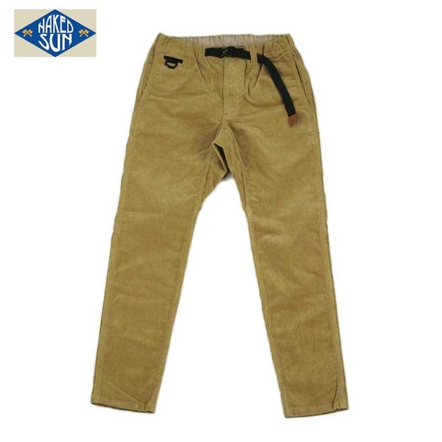 017007006 (CORDUROY FLEXIBLE EDGED PANTS) COYOTE