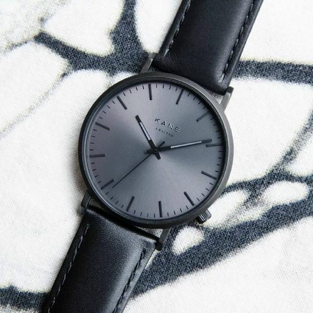■ケイン ブラックアウト クラシック 腕時計 39㎜ BO-02