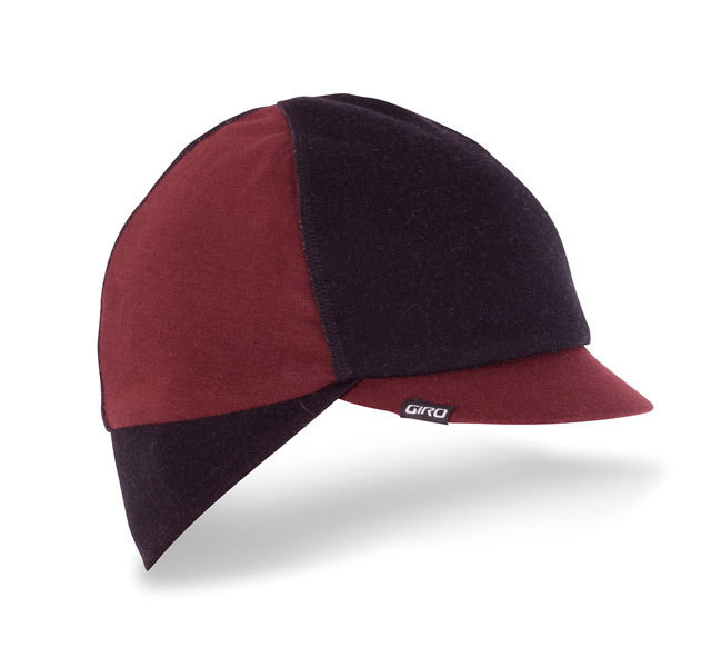 GIRO ジロ SEASONAL  MERION WOOL CAP サイズS/M Red / Black