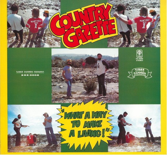 COUNTRY GAZETTE / WHAT A WAY TO MAKE A LIVING ! (LP) 日本盤