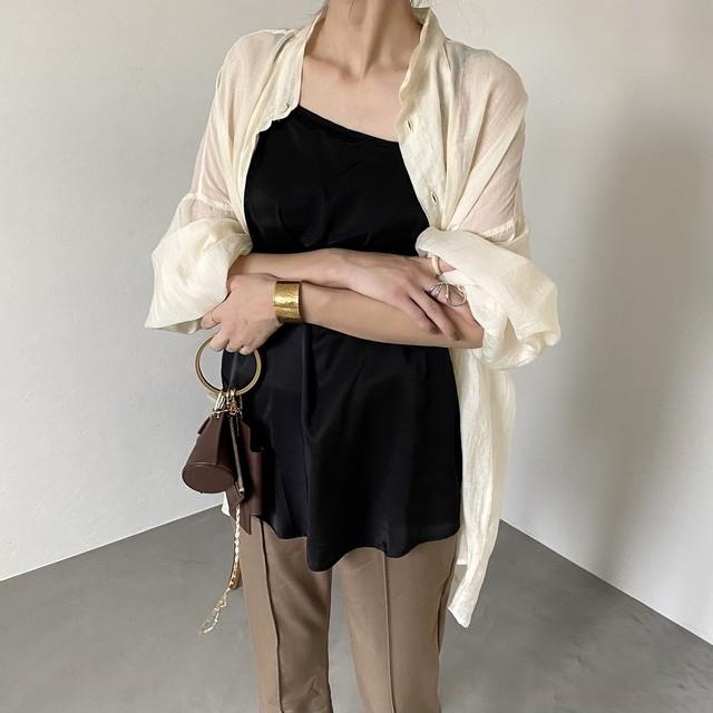asymmetry camisole/black