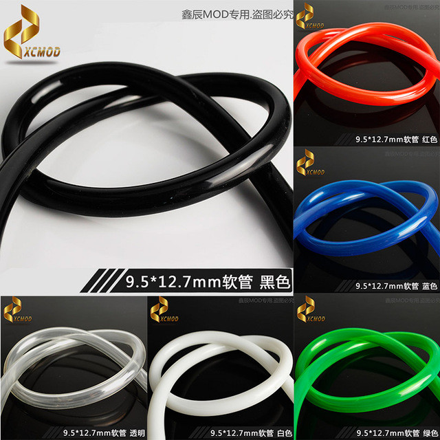 PVCソフトチューブ9.5*12.7 ブラック3m