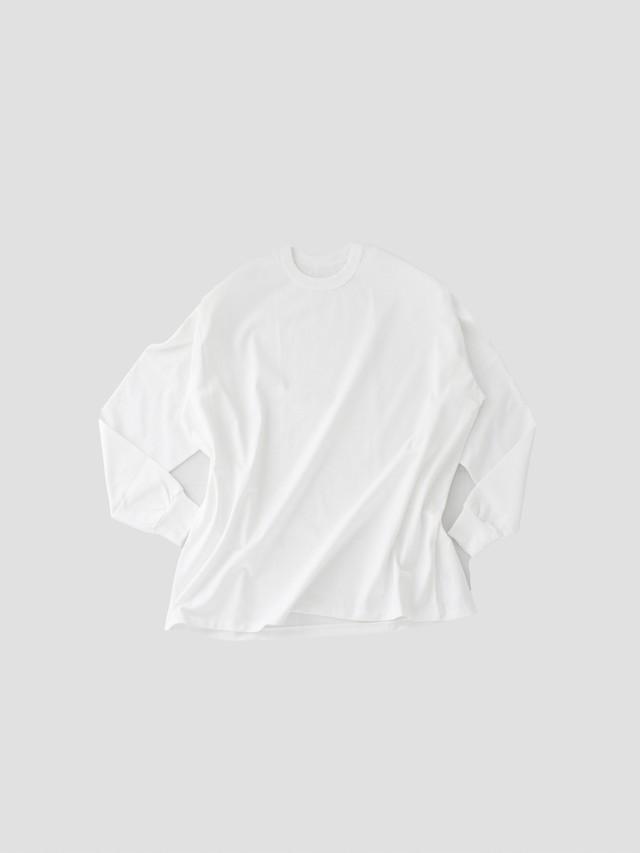 MAISON EUREKA Giza Cotton L/S Pack Tee White 081