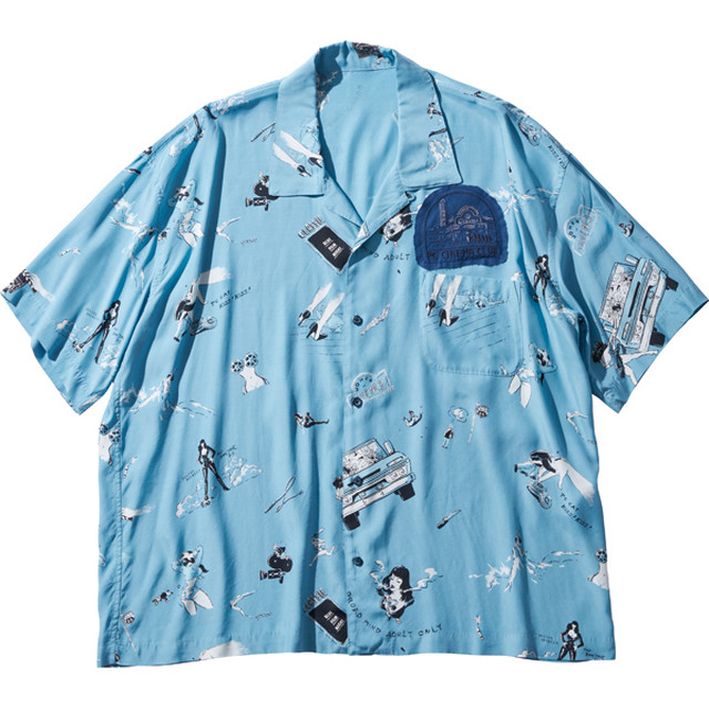 "ALOHA SHIRT ""STRONG WOMEN & RUSS"""