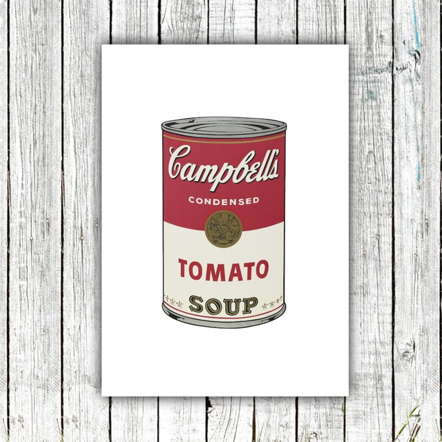 Campbell's Soup / 【アートポスター専門店 Aroma of Paris】[SD-000683]