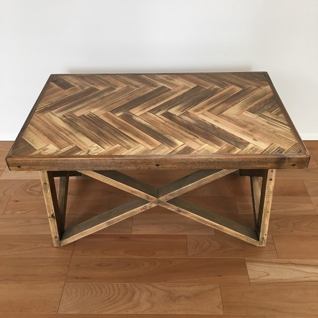 herringbone lowTable