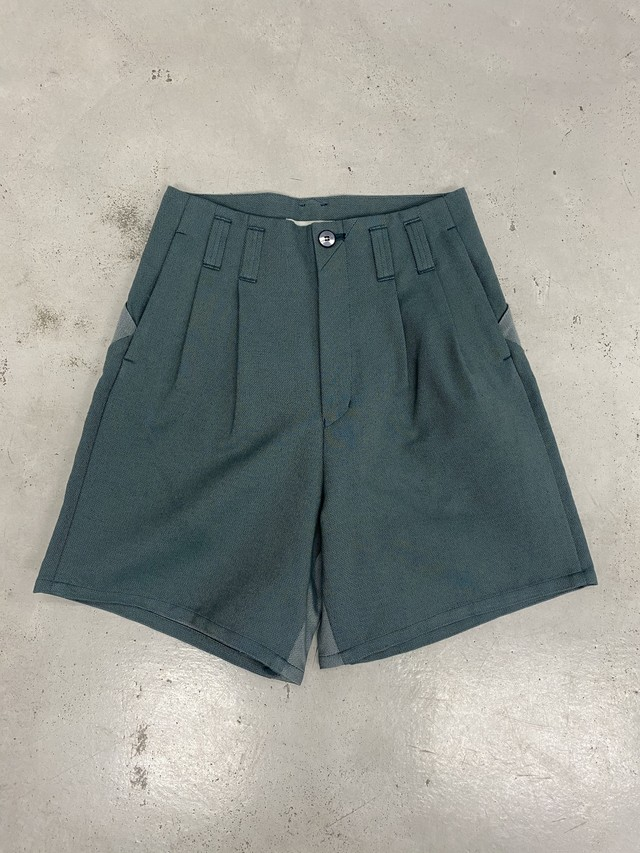 amachi. / Elevation Shorts (Blue Green)