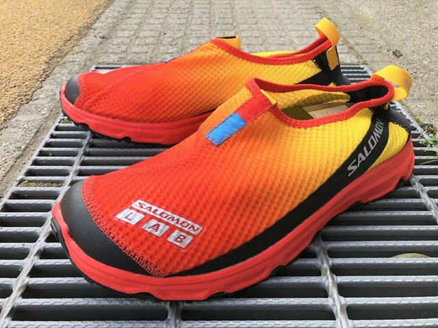 SALOMON RX MOC 3.0 ADVANCED (LEMON/RACING RED/BLACK)