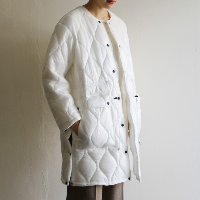 PHEENY【 womens 】leopard jacquard quilting coat