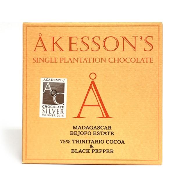 アケッソンズ マダガスカル 75%トリニタリオ&ブラックペッパー