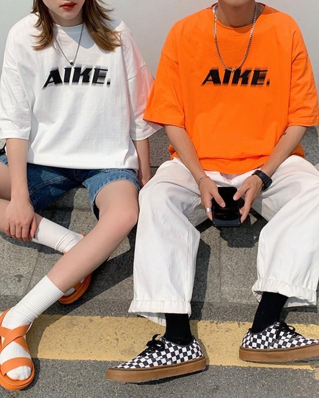 AIKE.ロゴTシャツ