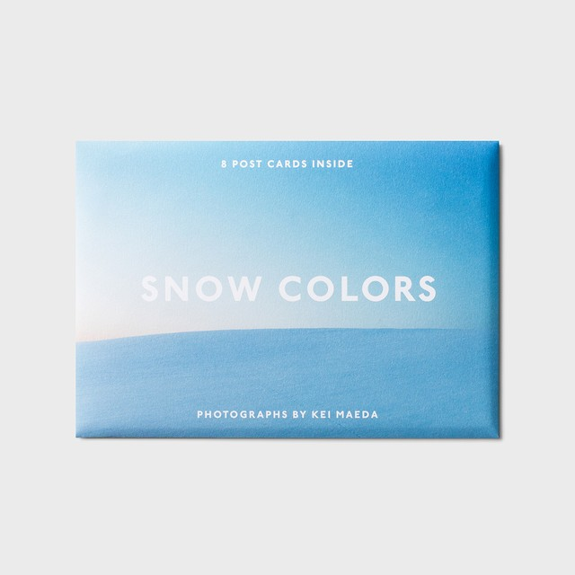 SNOW COLORS〈ポストカード8枚セット〉