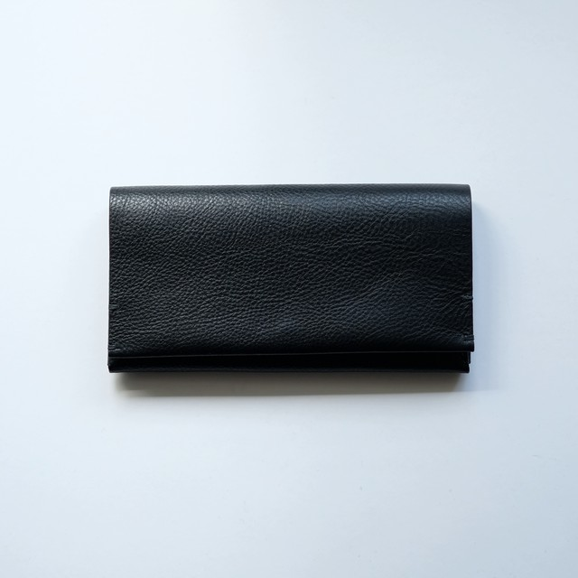 long wallet - bk - vacchetta