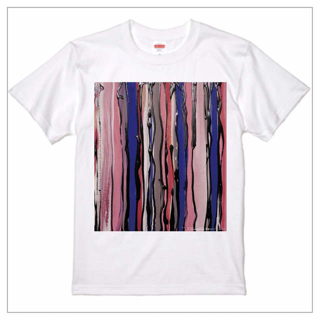 プレミアム印刷 - Tシャツ / lines-001