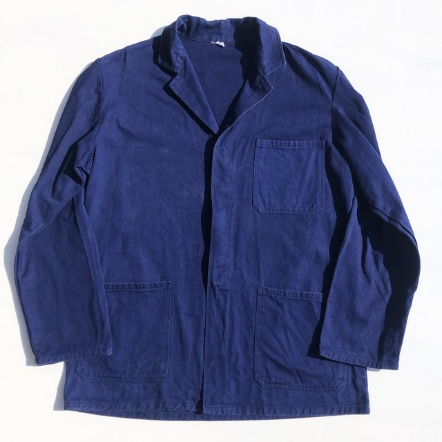 USED French Work Jacket