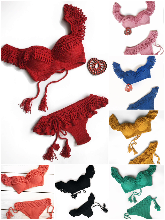 Crochet Bikini Set❤