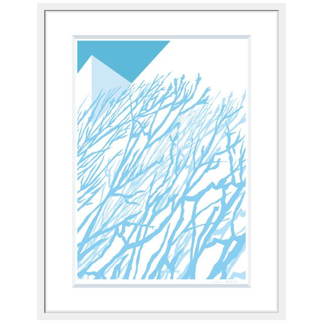 No.La-010「ある青い晴天の日のできごと」ジクレープリント額装 L size