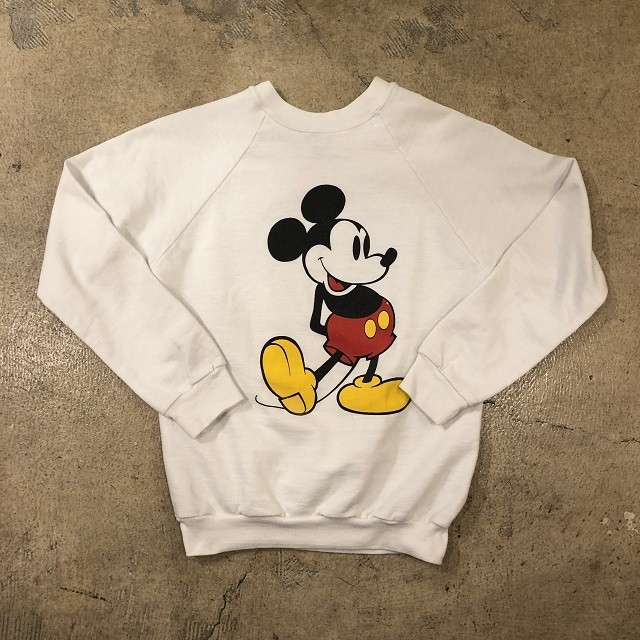 80's Mickey Mouse Raglan Sweat