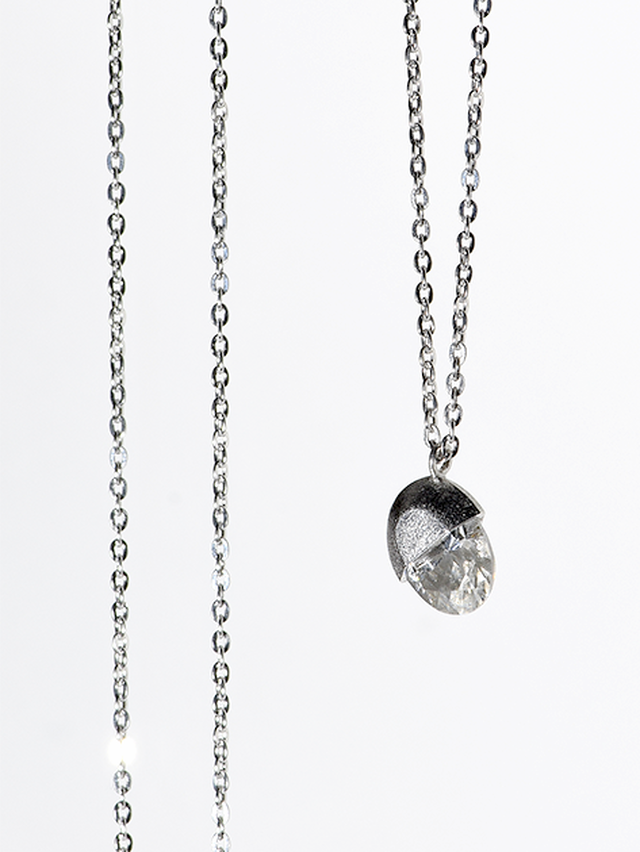 [ネックレス] core necklace / Oval
