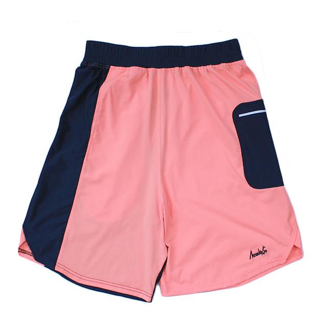 LOGO street shorts <Navy×S.Pink>  - メイン画像