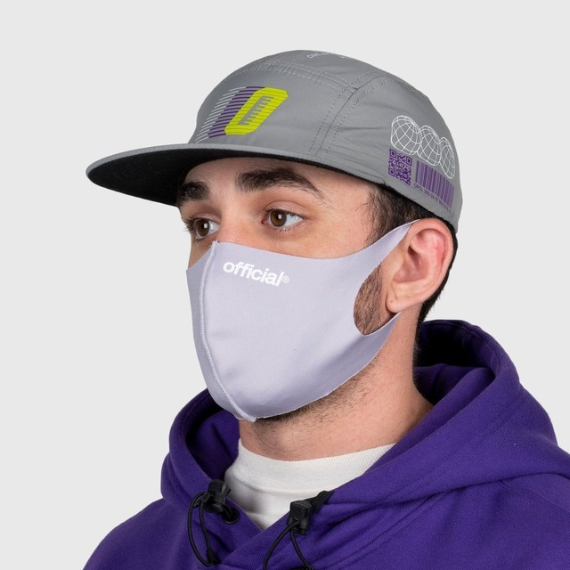 OFFICIAL NANO-POLYURETHANE FACE MASK (LGREY)