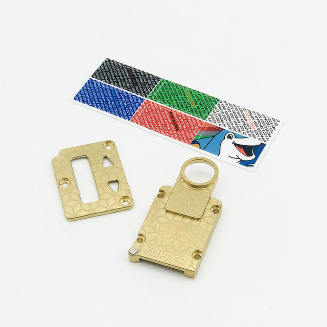 SOLID NAVAL BRASS OCTO INNER PLATE SET