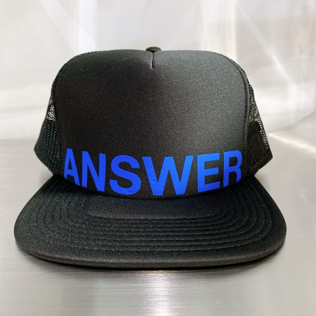 ANSWER COLLECTION / ANSWER HELVETICA MESH CAP