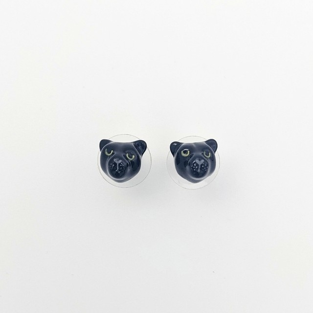 【Nach】 Blackpanther earrings