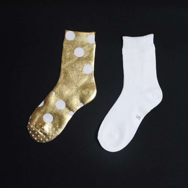 METAL SOX (BETA TAMA) OFF WHITE X GOLD