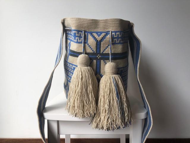 【Pre-order】ワユーバッグ(Wayuu bag) Exclusive line Lサイズ