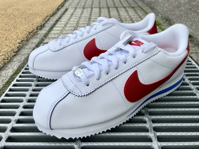 NIKE CORTEZ BASIC LEATHER OG (WHITE/VARSITY RED)