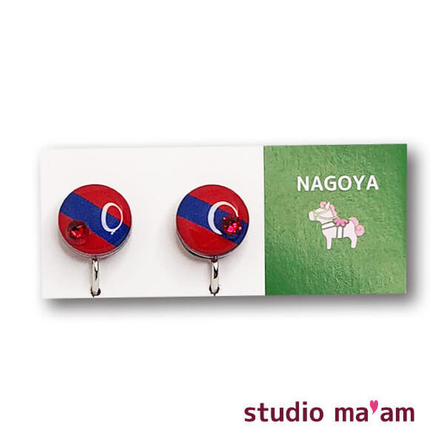 ■NAGOYA-09  イヤリング。まる。〜ピアス変更可〜