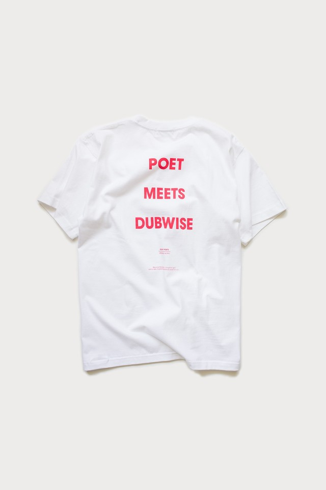 【POET MEETS DUBWISE(ポエトミーツダブワイズ)×眠家】 POET MEETS DUBWISE T-SHIRTS