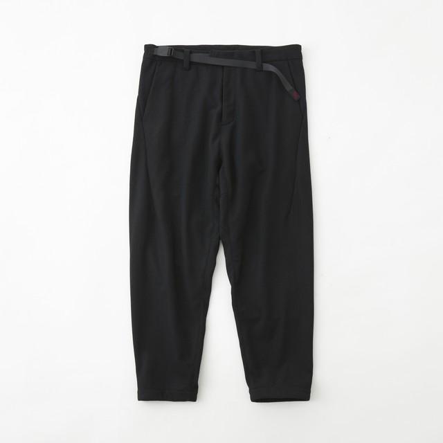 WM × GRAMICCI WOOL DARTED PANTS - BLACK