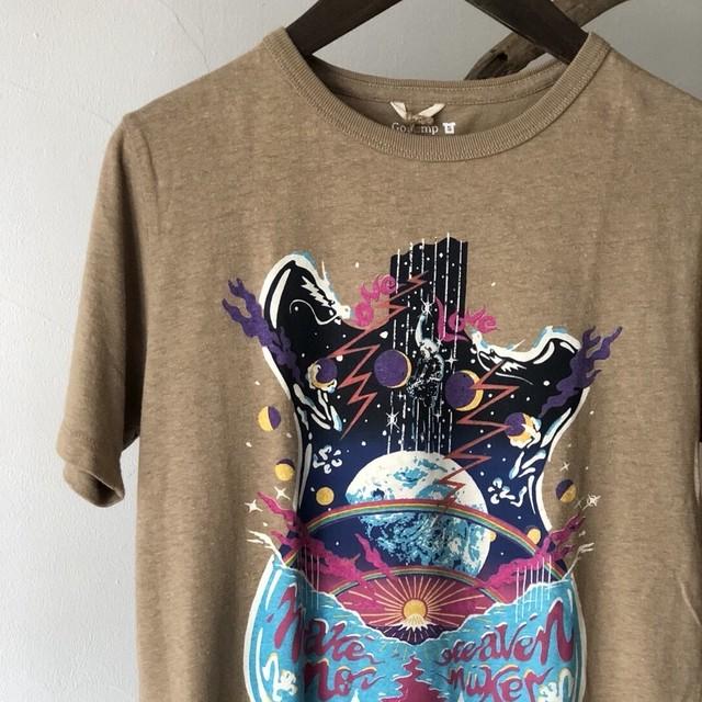 SLOW TURTLE 半袖Tシャツ '12 Make Heaven Not Nukes (sizeS)
