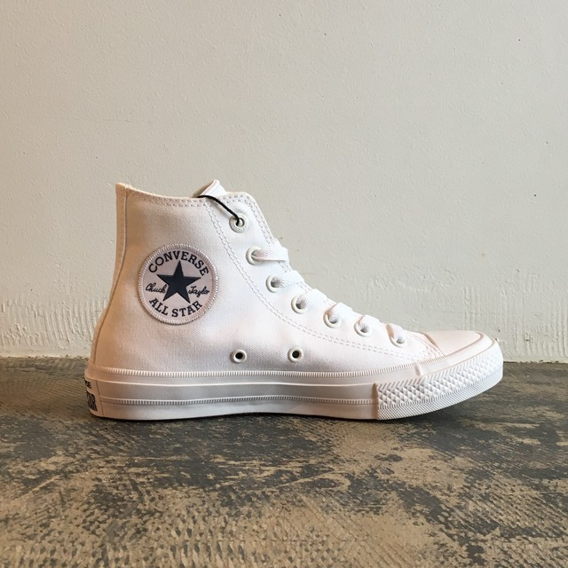SALE★Converse All Star Chuck Taylor Ⅱ Hi white/white