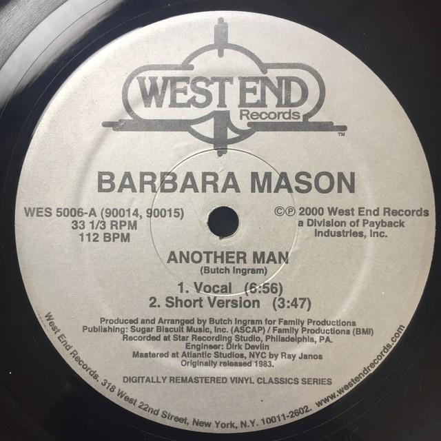 Barbara Mason – Another Man