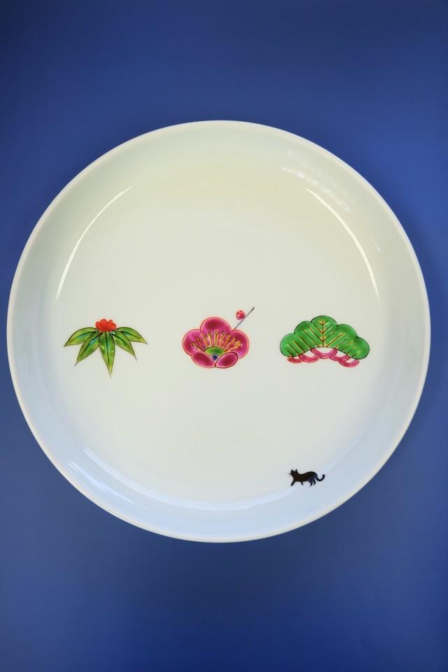 shou tiku bai / plate(Φ24cm)